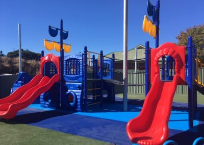 The redeveloped playground for the Clarence River Domestic & Family Violence Specialist Services community centre